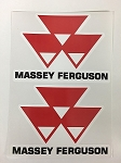 2 Massey Ferguson MF Diecut Decal by SBD Decals
